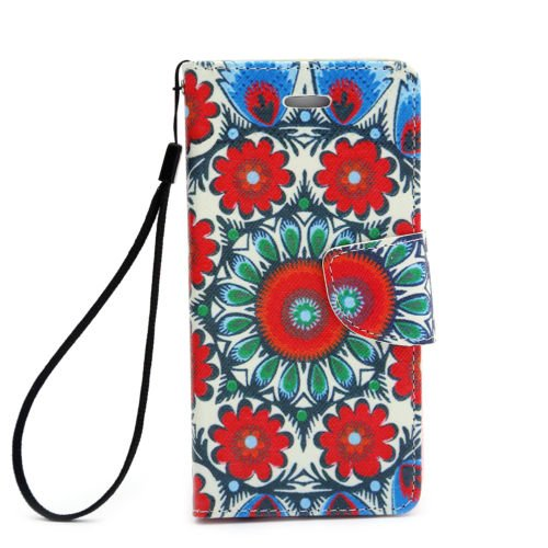 Flip Card Holder Stand PU Leather Wallet Phone Case Cover For iPhone Samsung LG 11. Mandela iPhone 5 / 5S/ (Supplies Austin Party)