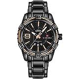 NAVIFORCE Luxury Design Watch - Steel Black