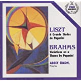 Liszt: 6 Grandes Etudes De Paganini. Brahms: Variations On A Theme By Paganini