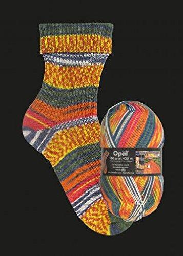 OPAL Sockenwolle Hundertwasser I - Die Straße zum Sozialismus