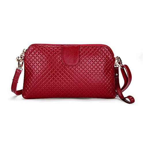 Eysee, Poschette giorno donna Rosso marrone 25cm*14.5cm*2cm Vino rosso