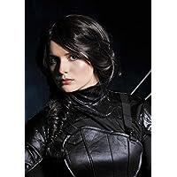 Hambre de mujeres juegos estilo Katniss peluca