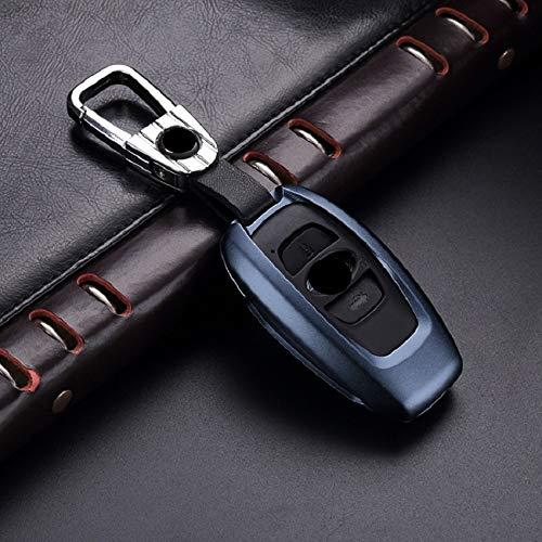 LUOERPI Carcasa de aleación de Aluminio KeyHolder Funda, para Subaru XV BRZ Forester Legacy Outback Llavero Accesorios
