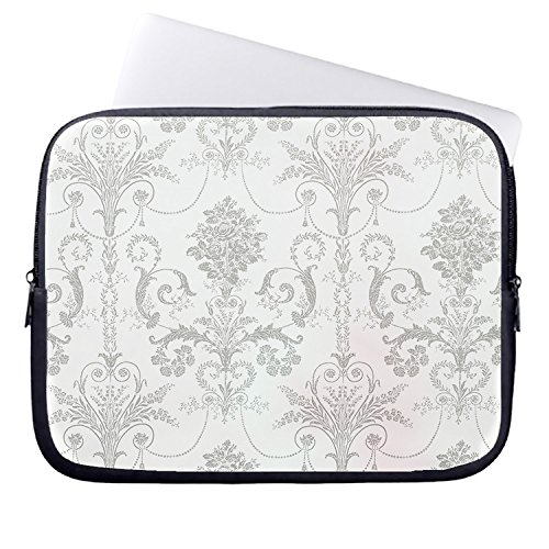whiangfsoo-scroll-damask-ptn-white-on-duck-egg-gray-macbook-pro-sleeves-laptop-bag-for-women-13-inch