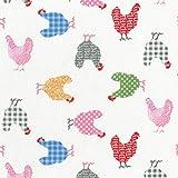 Textiles français Stoff/Hühner Stoff | Die 'Hip'