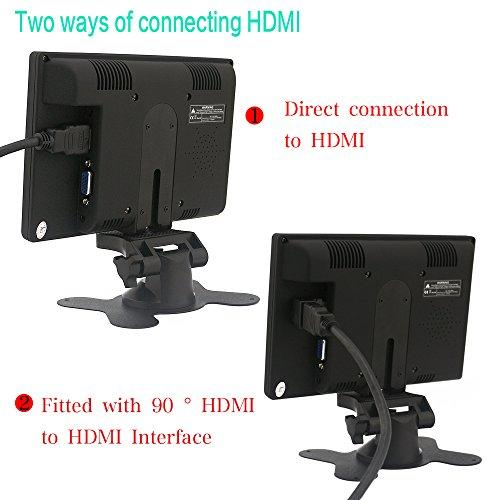 Sourcingbay 7 Digital TFT LED Color Receiver automobile PC Monitor HDMI VGA AV origin showcase 7 INCH Products