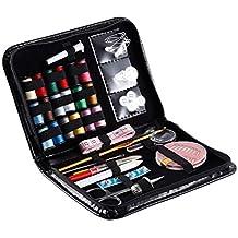 OUTAD Costura Caja de Costura Bolsa Negro de Costura Kit de Herramientas de Costura de Piezas Costurero Accesorios para coser Conjunto de costura Kit de Accesorios Costura Kit de Accesorios Costura Kit de Costura (38 Piezas)