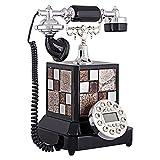 Petrichore Kontinentale Telefon antikes Telefon Ornamente High-End-kreativen Haushalt Vintage Festnetzanschluss