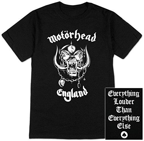 Motor Head - - Inglaterra de hombre T-Shirt en negro