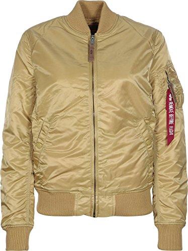 Alpha Industries Damen Jacken / Bomberjacke MA 1 VF 59 Women goldfarben L