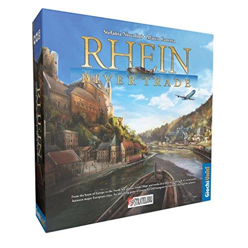 Giochi Uniti GU224 - Rhein River Trade Gioco da Tavolo