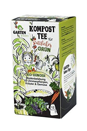 Bio Gemüse und Kräuterdünger - Tee für Pflanzen - Tee Pflanze