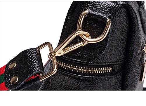 BAAFG Rucksack Persönlichkeitsschultertasche Reiserucksack Black
