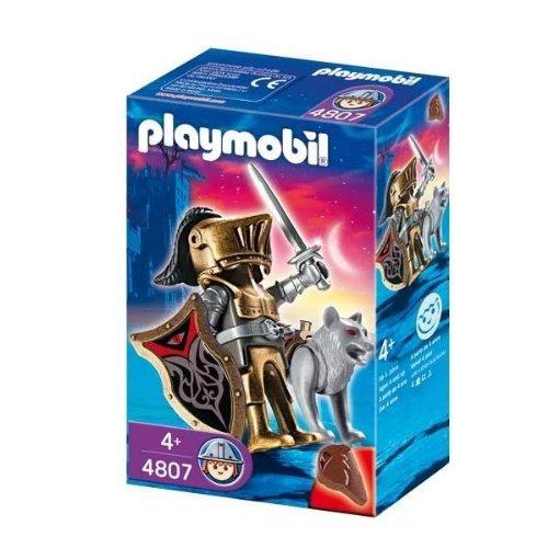 Playmobil - 4807 - Figurine - Chevalier des Loups avec Épée