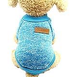 AOTUOTECH Fashion Pet pile vestiti maglione caldo maglia maglione giacca  invernale tuta da donna f79d590f01a1