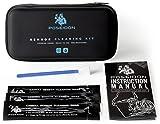 Kit de Nettoyage Humide pour Capteur d'Appareil Photo : 10 Bâtonnets de 16 mm Imbibés de Liquide Nettoyant (Pour DSLR, SLR, APS-C, CCD/CMOS)...