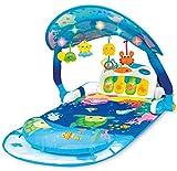 WinFun Baby Erlebnisdecke Piano Babygym mit Spielbogen Musik und Lichtern