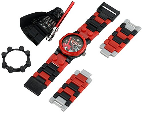 LEGO-Childrens-9001765-Red-Plastic-Quartz-Watch-with-Black-Dial