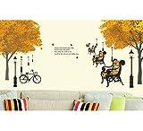 Decals Design 'Trees in Autumn Antique L...