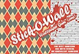 #4: Stick O Wall Adhesive Wallpaper CMC Powder For Wallpaper Paste 200 Grm For 6 Rolls