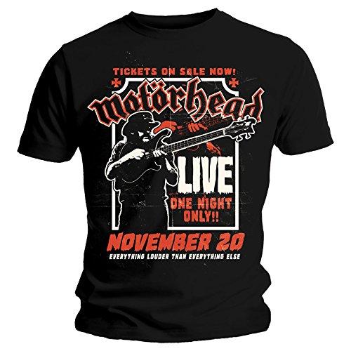Motorhead Camiseta Oficial Texto en inglés «Lemmy Firepower»...