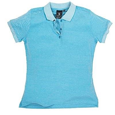 Damen Poloshirt EFFI, blue juwel