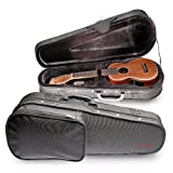 Stagg 17671 Baritone Ukulele Lightweight Case - Black