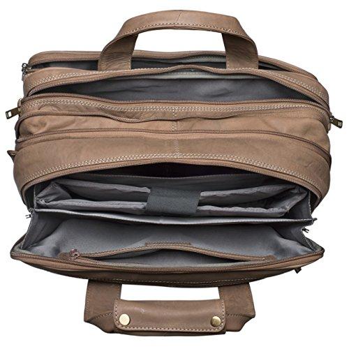 5af3777648 ... STILORD Leopold Grande borsa in pelle da Insegnante Professore  Portadocumenti a tracolla per Ufficio Lavoro A4 ...