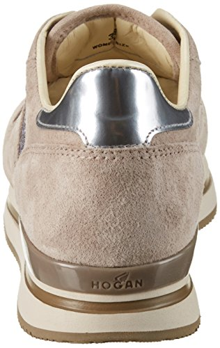 Hogan Hxw2220n624g440qz9, Sneaker a Collo Basso Donna Multicolore (Quarzo/Sasso)