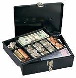 Master Lock Cash Box, Locking Cash Box with Money Tray, Medium, 7113D