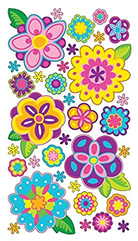 Sticko Pâques/printemps couleur de floraison