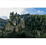 CCEEBDTO Jigsaw Puzzle 500 Piece For Adults Puzzle 3D Wooden Classic Puzzle Erzburg Germany Landscape Diy Educational Puzzle Christmas Home Decor Gift 52X38Cm