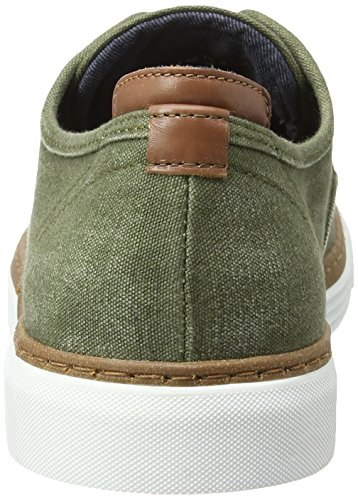 Camel Active Racket 14, Sneakers Basses Homme Vert (Army 02)