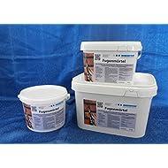 Ruberstein® Fugenmörtel anthrazit im 2 kg Eimer