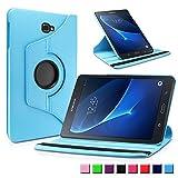 Samsung Galaxy Tab A 10.1 Funda Case, Infiland PU Cuero 360°Rotación Smart...