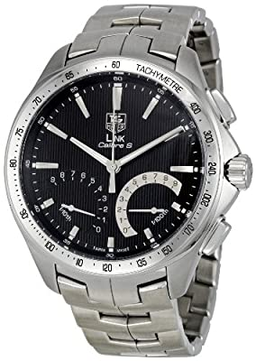 Tag Heuer Link Calibre S Cat7010.ba0952 Gents Steel Bracelet Chronograph Watch