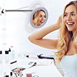 Best Espejos De Maquillaje Con Luz - soyin Espejo de Maquillaje LED con Aumento de Review