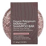 Jabón para el cabello, Extracto de plantas naturales Aceite Champú Jabón para el cabello Nutrir el cuero cabelludo Champú sólido Barra y efecto acondicionador(4#)