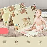 Tappetino per bambini Tappetino da gioco educativo per bambini Pieghevole doppi lati impermeabili per bambini Tappetino per bambini XPE non tossico per neonati - 200 x150 x1cm