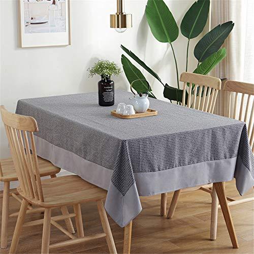 Baumwolle Und Leinen Tischdecke Mode Englischen Zeitungsdruck Tischdecke Weihnachten Halloween Dekoration Tischdecke A 60x60cm ()