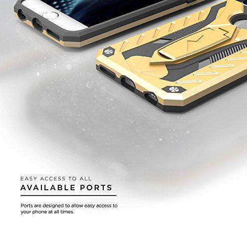 iPhone 7Coque, Zizo [statique Série] résistant aux chocs [Test de chute de qualité militaire] avec béquille intégrée [iPhone 7Heavy Duty Coque] résistant aux chocs