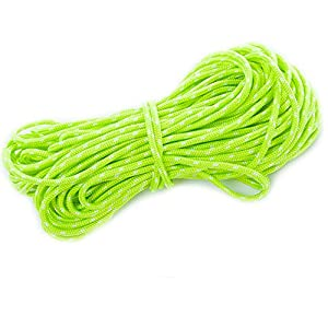 51lq8b96JwL. SS300  - Vientiane 20M Nylon rope 4mm Camping tent wind rope Reflective Cord Outdoor Gear Lanyard Green Luminous rope