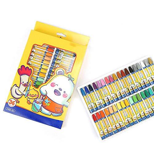Einfache Verkauf Zum Kostüm - Heißer Verkauf 36 Farben Wachsmalstift Kinder Ölgemälde Stick Candy Farbe Öl Pastellkreide Kindersicherheit ungiftig Pastell