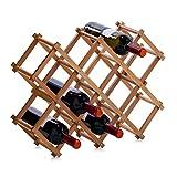 Zeller 13567 Weinregal, Bamboo / 54 x 14.5 x 38
