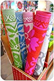 #6: Plastic Floor Mat Plastic Mat (Chatai) Multi color and design, Export Quality, Prime Offer for Today