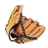 Huihuger Guante de mano izquierda para softball, 12,5 cm, color marrón