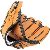 Guante de béisbol y softball Yeah67886para mano izquierda, de PVC, 31,7 cm (color marrón)