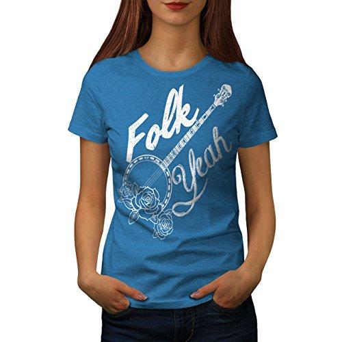 wellcoda Volk Ja Frau L T-Shirt