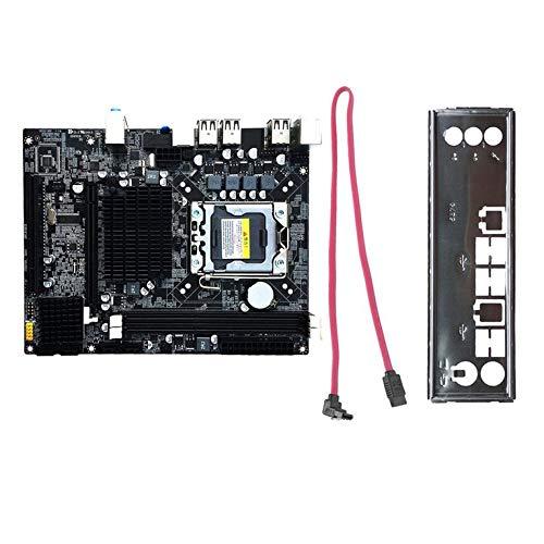Desktop Motherboard Mainboard für X58 LGA 1366 DDR3 16GB Unterstützung ECC RAM-Schwarz