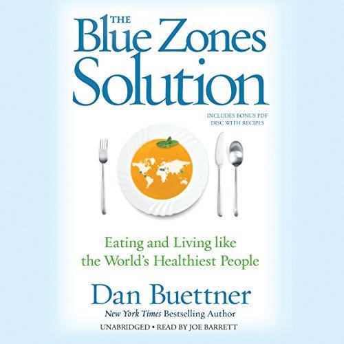The Blue Zones Solution  Audiolibri